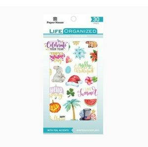 Paper House Life Organized Seasonal New